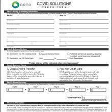 Covid Order Form
