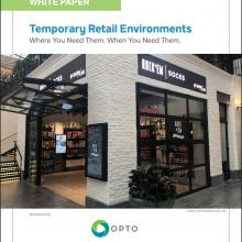 White Paper: Temporary Retail Environments