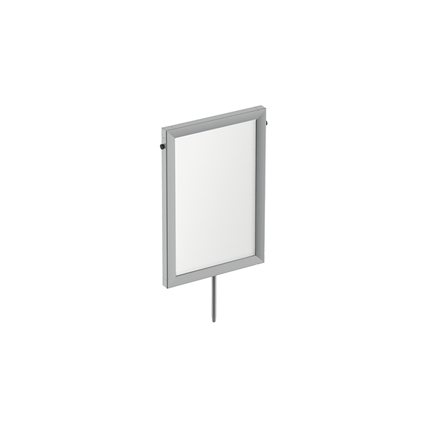 "8""W X 12""H SIGN FRAME WITH STEM"