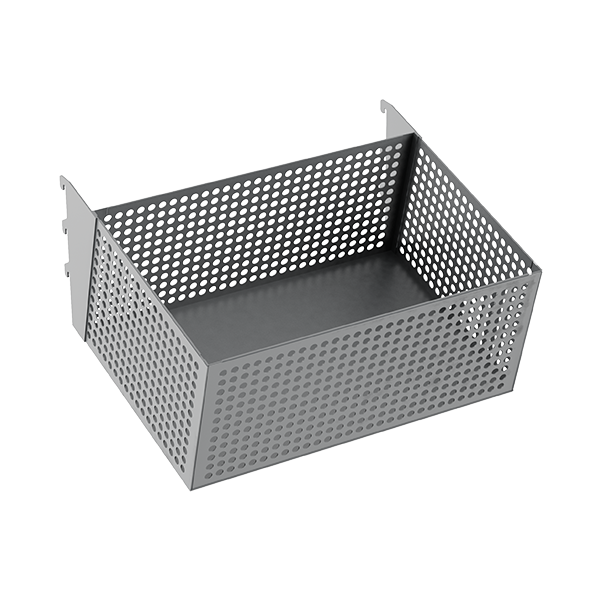 ANGLED PERFORATED BASKET