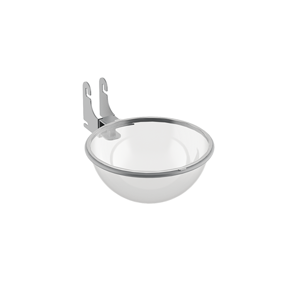 ADJUSTABLE BUBBLE BOWL FOR POST