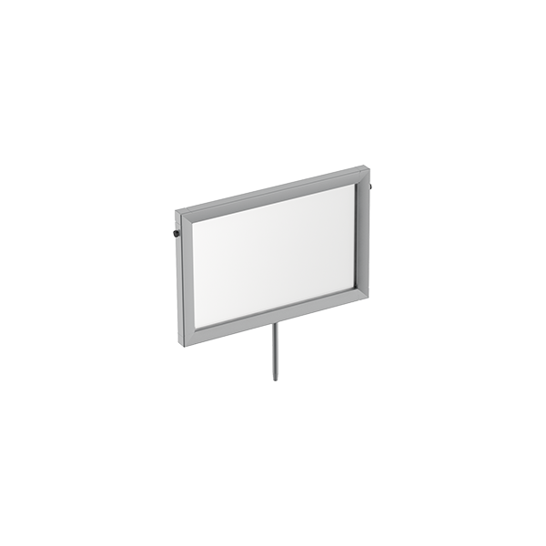 "12""W X 8""H SIGN FRAME WITH STEM"