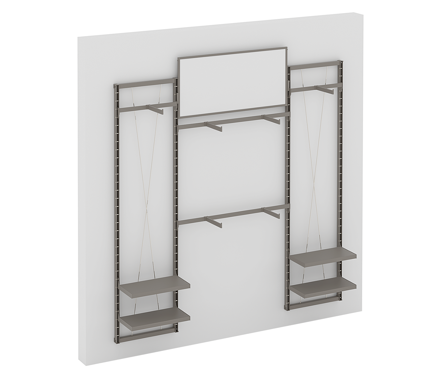Basics Collection Wall Upright System
