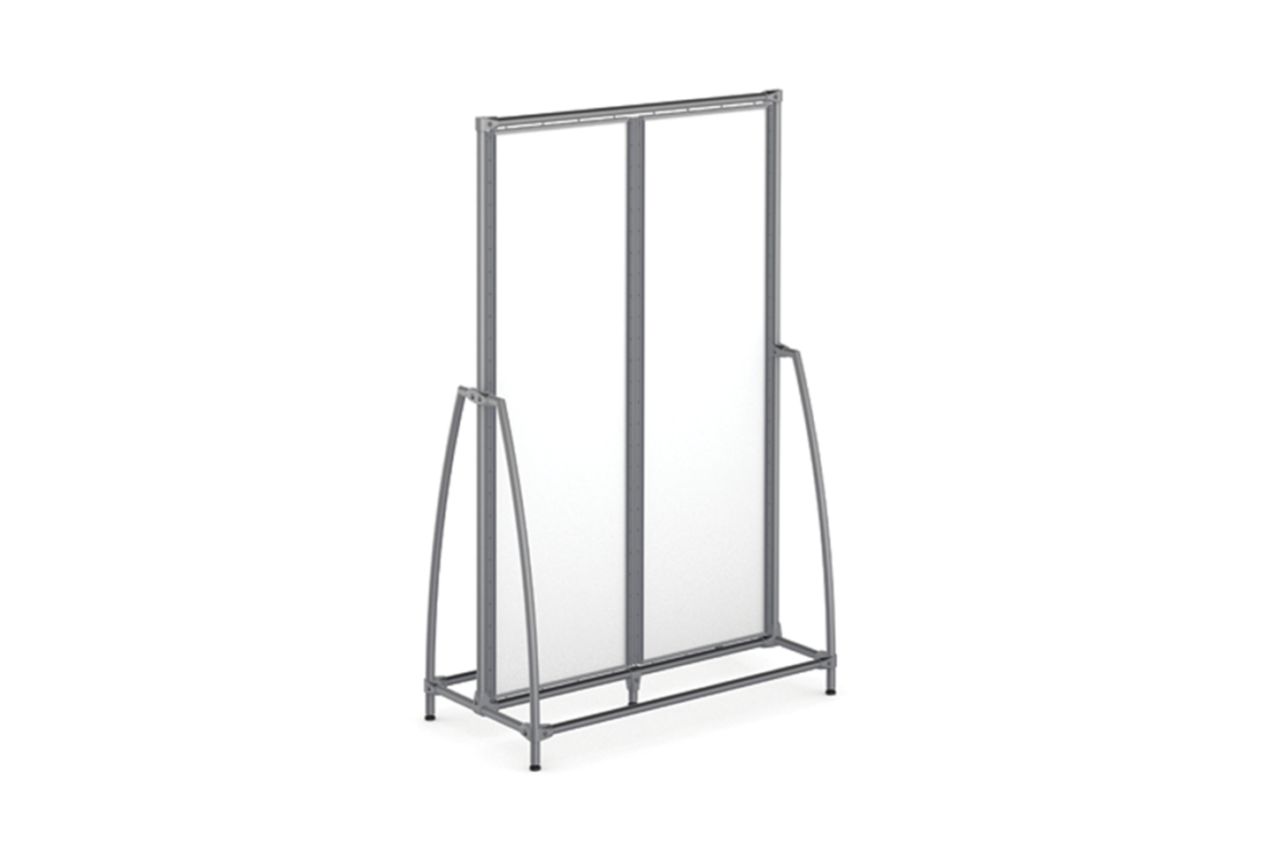 Classic Collection 2-Module High Gondola with Open Curved Ends