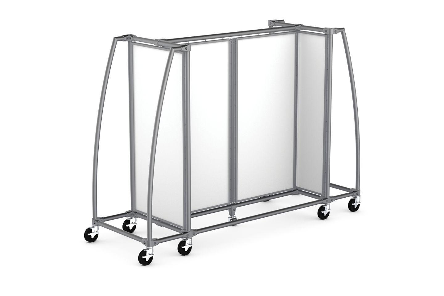 Classic Collection 2-Module Low Gondola with Open Curved Ends