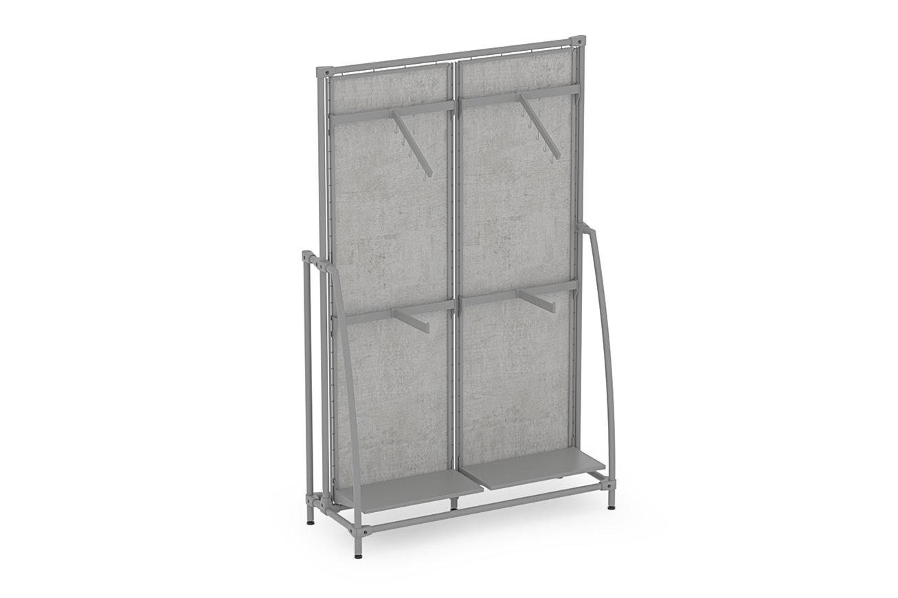 Classic Collection 2-Module High Narrow Gondola with Curved Ends