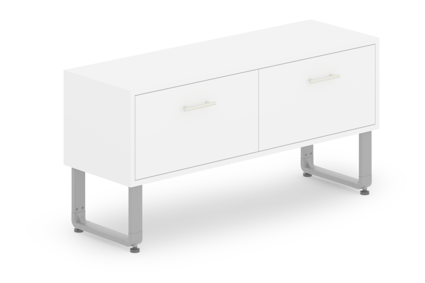 Reveal Collection 2-Drawer Laminated Cabinet