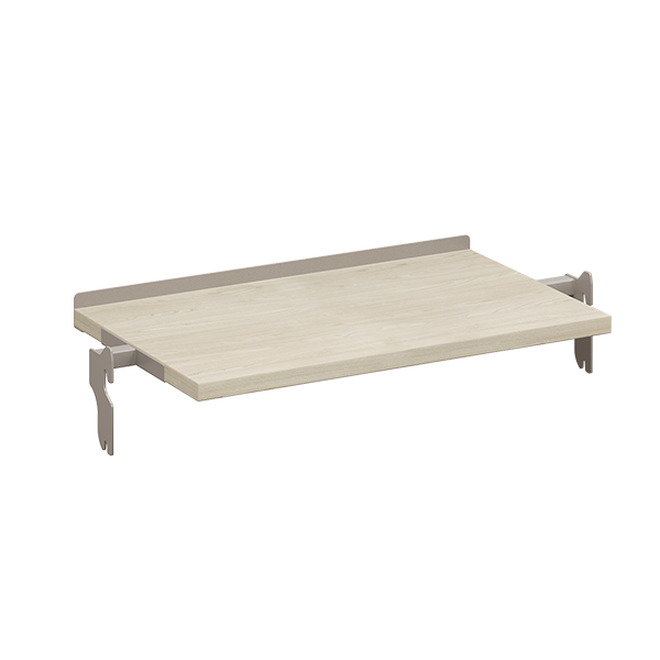 REVEAL LAMINATED SHELF FOR REVEAL OUTRIGGER POST