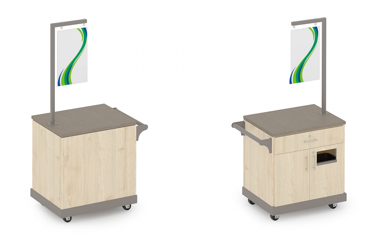 Mobile BOPIS Welcome Cart