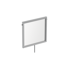 "12""W X 12""H SIGN FRAME WITH STEM"