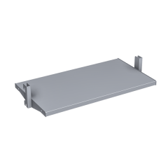 METAL CENTER-MOUNT SHELF