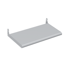 METAL BULLNOSE SHELF