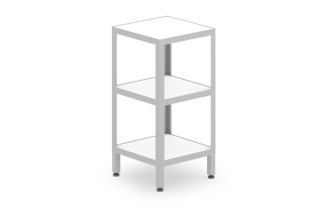 Evolve Collection Small Angle Frame Etagere