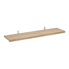 REVEAL 3D LAMINATED SHELF W/ INSET BRACKETS